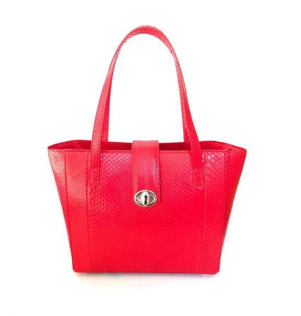 Voyageuse Python rouge Taille S